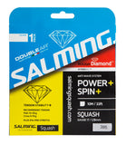 Salming Rough Diamond 17 Squash String (Clear) - RacquetGuys