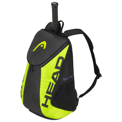 Head Tour Team Extreme Backpack Racquet Bag (Black/Yellow) - RacquetGuys