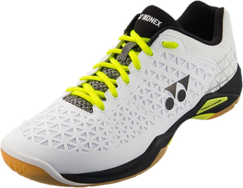 Yonex Power Cushion Eclipsion X Mens Indoor Court Shoe (White/Black) - RacquetGuys