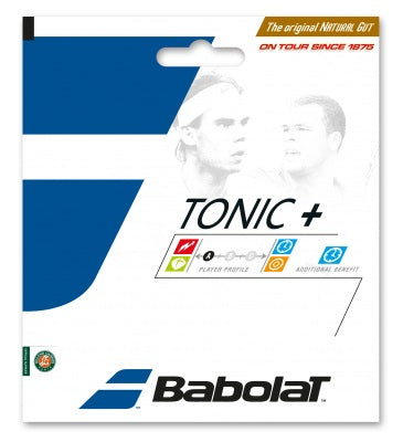 Babolat Tonic+ Ball Feel Natural Gut 15L Tennis String (Natural) - RacquetGuys