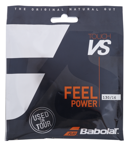 Babolat Touch VS 16 Tennis String (Natural) - RacquetGuys.ca