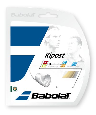 Babolat Ripost 15 Tennis String (Natural) - RacquetGuys