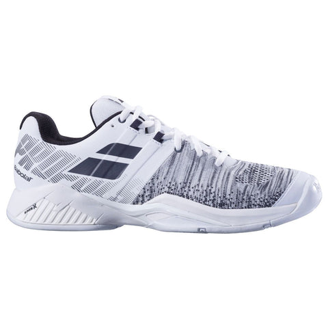 Babolat Propulse Blast AC Mens Tennis Shoe (White/Black) - RacquetGuys