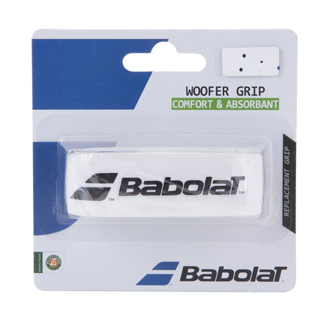 Babolat Woofer Replacement Grip (White) - RacquetGuys.ca