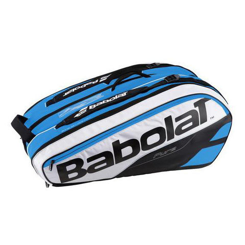 Babolat Pure 12 Pack Racquet Bag (Blue) - RacquetGuys