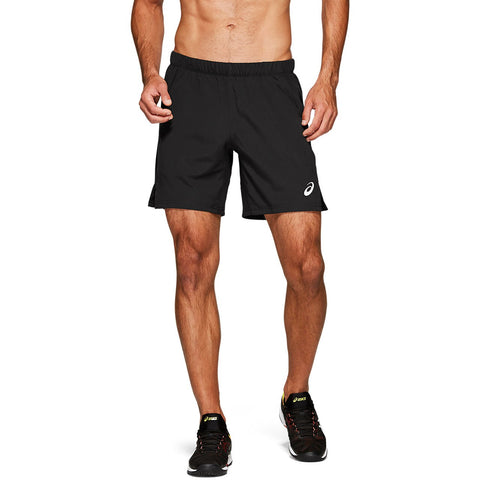 Asics Men's Elite 7 Inch Short (Black) - RacquetGuys