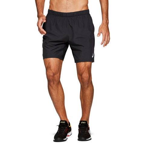 Asics Men's Club Shorts (Black) - RacquetGuys.ca