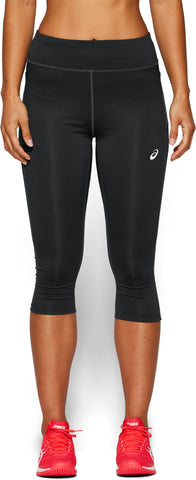 Asics Women's Tennis Knee Tights (Grey) - RacquetGuys