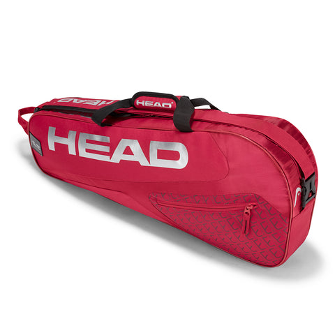 Head Elite Pro 3 Racquet Racquet Bag (Red) - RacquetGuys