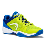 HEAD Revolt Pro 2.5 Junior Tennis Shoe (Green/Blue) - RacquetGuys