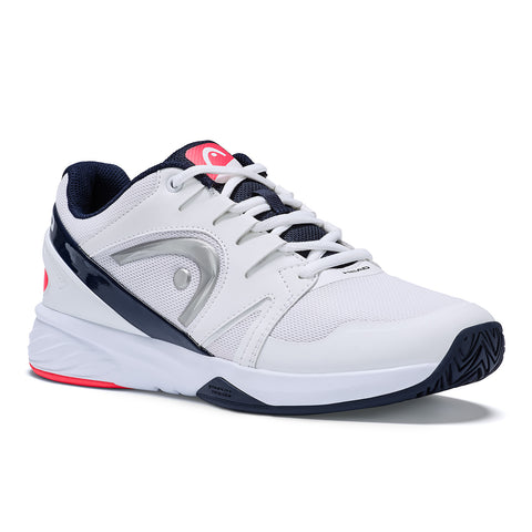 Head Sprint Team 2.0 Women's Tennis Shoe (White/Blue) - RacquetGuys