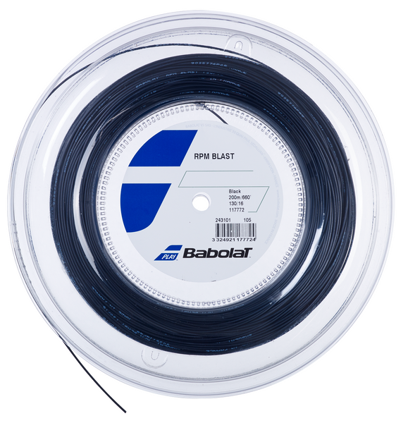 Babolat RPM Blast 16 Tennis String Reel (Black) - RacquetGuys
