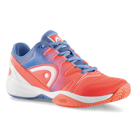 Head Sprint 2.0 Junior Tennis Shoe (Marine/Coral) - RacquetGuys.ca