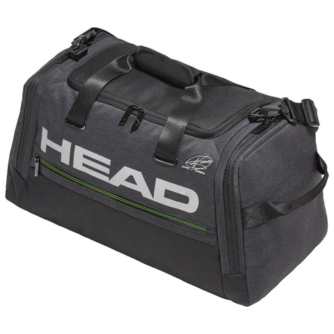 Head Djokovic Duffle Bag (Black) - RacquetGuys.ca