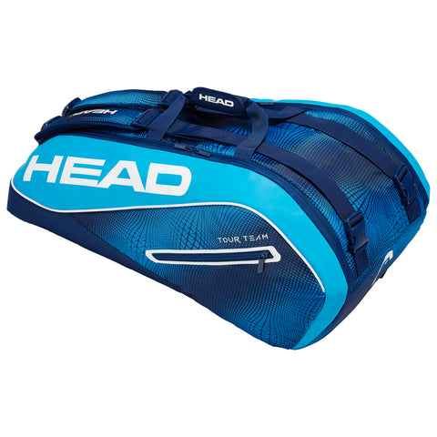 Head Tour Team Supercombi 9 Racquet Bag (Navy/Blue) - RacquetGuys