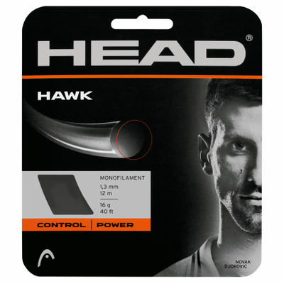 HEAD Hawk 16 tennis String (Grey)