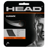 Head Hawk 16 Tennis String (Silver) - RacquetGuys