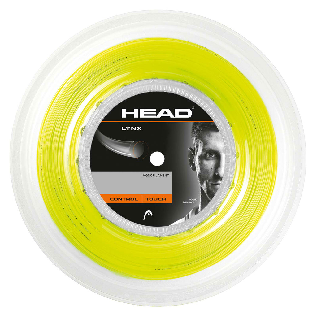 Head Lynx 17 Tennis String Reel (Yellow) - RacquetGuys.ca
