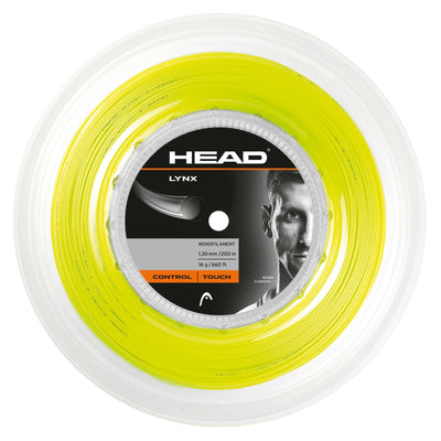 HEAD Lynx 16 Tennis String Reel (Yellow)