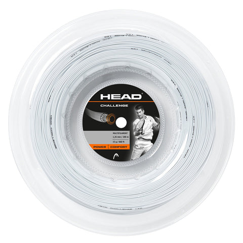 Head Challenge 15 Tennis String Reel (White) - RacquetGuys.ca