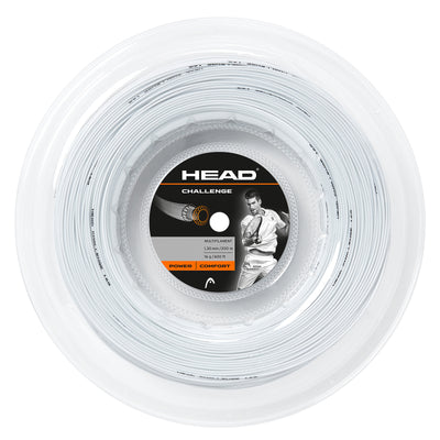 HEAD Challenge 16 Tennis String Reel (White)