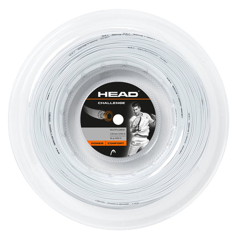 Head Challenge 16 Tennis String Reel (White) - RacquetGuys.ca
