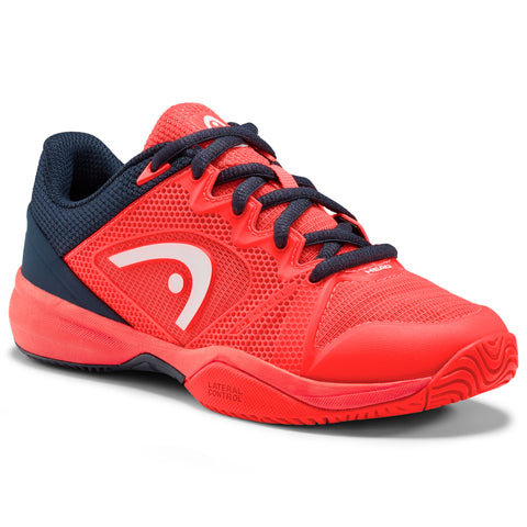 Head Revolt Pro 2.5 Junior Tennis Shoe (Red/Black) - RacquetGuys.ca