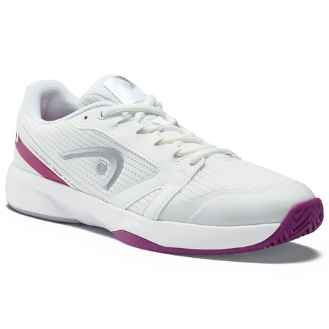 Head Sprint Team 2.5 Women's Tennis Shoe (White/Violet) - RacquetGuys
