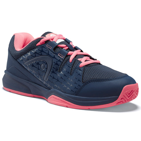 Head Brazer Women's Tennis Shoe (Blue/Pink) - RacquetGuys