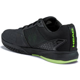 HEAD Revolt Team 3.0 Mens Tennis Shoe (Black/Green)