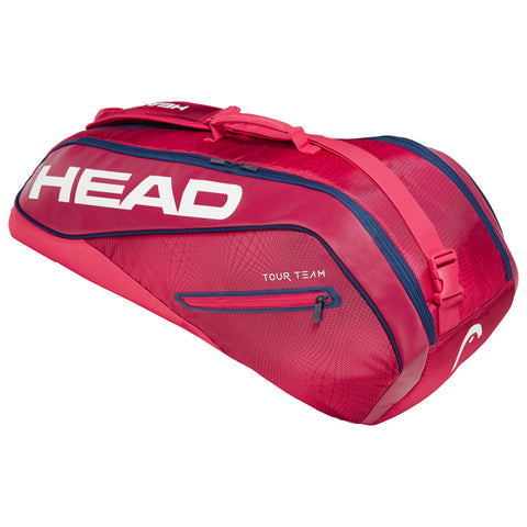 HEAD Tour Team Combi 6 Racquet Bag (Red) - RacquetGuys