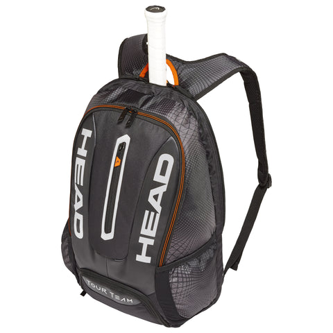 Head Tour Team BackPack Racquet Bag (Black/Silver)