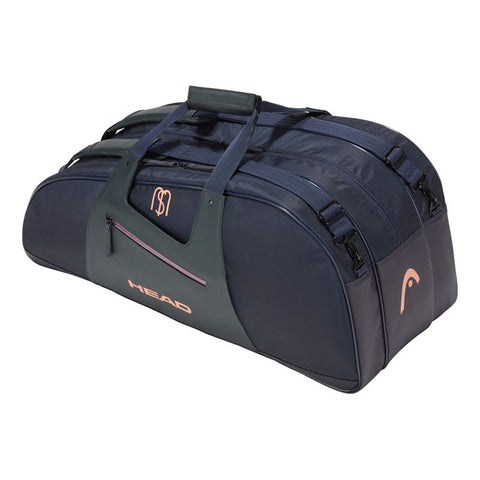 Head Maria Sharapova Combi 6 Pack Racquet Bag (Navy/Grey) - RacquetGuys.ca