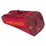 Head Core Combi 6 Pack Racquet Bag (Red)