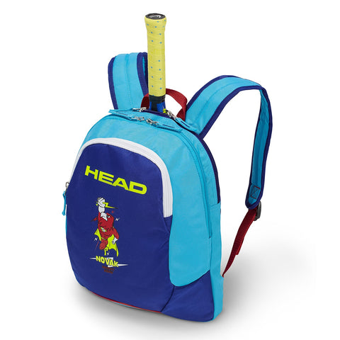 Head Novak Djokovic Junior Backpack Racquet Bag (Blue) - RacquetGuys.ca