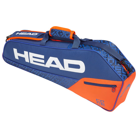 HEAD Core Pro 3 Racquet Bag (Blue/Orange)