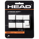 Head Xtreme Soft Pickleball Overgrip 3 Pack (White) - RacquetGuys.ca