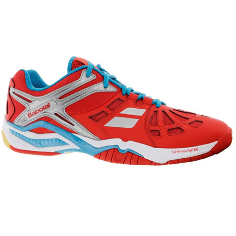 Babolat Shadow 2 Men's Indoor Court Shoe (Red) - RacquetGuys.ca
