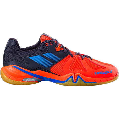 Babolat Shadow Spirit Mens Indoor Court Shoe (Black/Red) - RacquetGuys