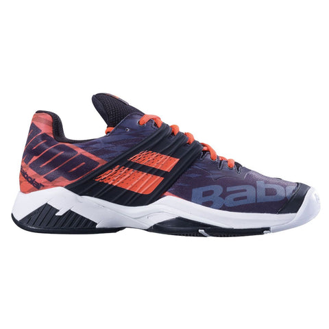 Babolat Propulse Fury AC Mens Tennis Shoe (Black/Red) - RacquetGuys