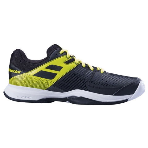 Babolat Pulsion AC Mens Tennis Shoe (Black/Yellow) - RacquetGuys