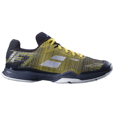 Babolat Jet Mach II AC Mens Tennis Shoe (Dark Yellow/Black)