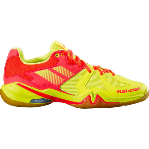Babolat Shadow Spirit Womens Indoor Court Shoe (Yellow) - RacquetGuys