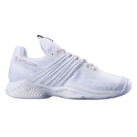 Babolat Propulse Fury AC Wimbledon Womens Tennis Shoe (White) - RacquetGuys