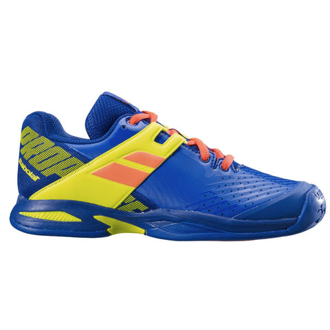 Babolat Propulse AC Junior Tennis Shoe (Blue/Yellow) - RacquetGuys.ca
