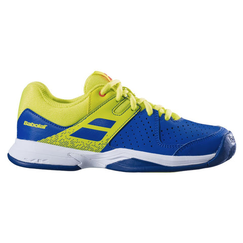 Babolat Pulsion AC Junior Tennis Shoe (Blue/Yellow) - RacquetGuys.ca