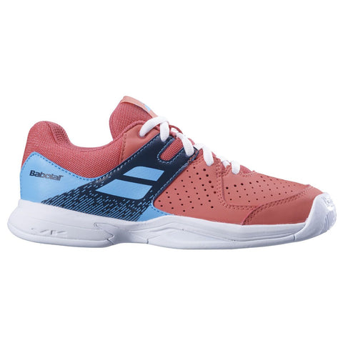 Babolat Pulsion AC Junior Tennis Shoe (Pink/Blue) - RacquetGuys.ca