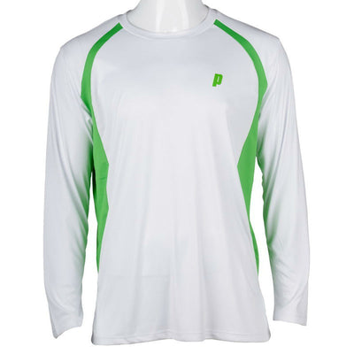 Prince Mens Long Sleeve Top (White)