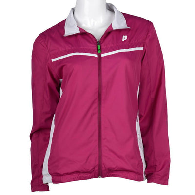 Prince Womens Warm Up Jacket (Berry)