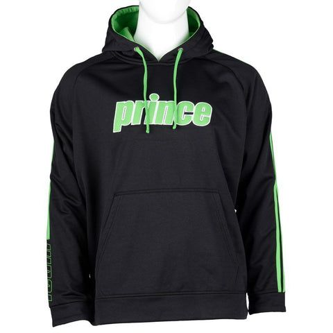 Prince Womens Pullover Hoodie (Black) - RacquetGuys